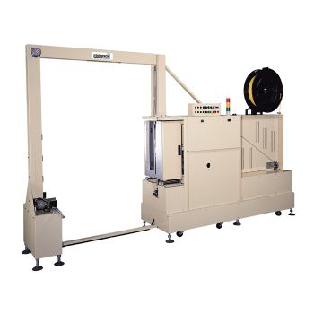 Side Sealed Pallet Strapping Machine - Vertical Strapping with Mobile Lance