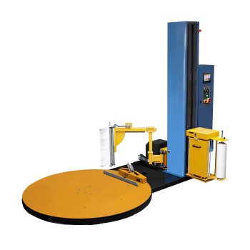 Pallet Stretch Wrapping Machine with auto clamp, cut system